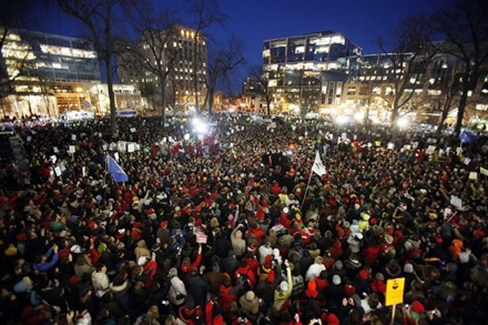 madison protests